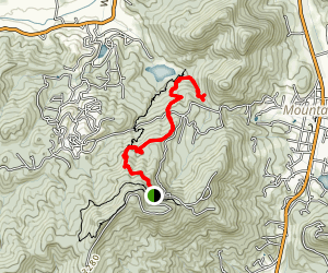 Edmonds Trail East Fork Map