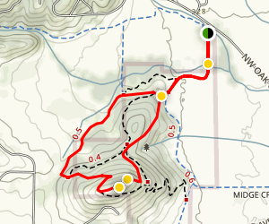 Bald Hill Trail Map