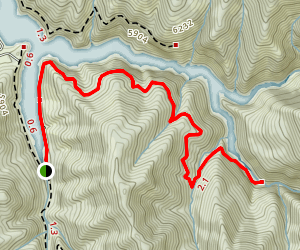Skull Crack Trail Map