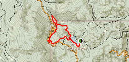 Sunday Gulch Trail Map