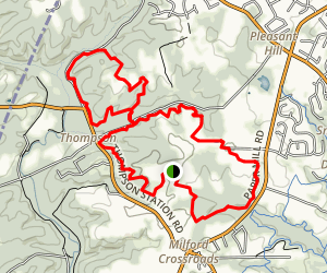 Whitely Farms Trail Map