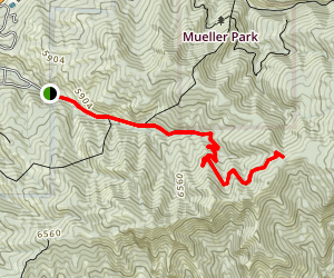 North Canyon Trail Map