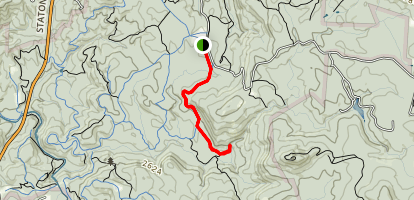 Wintergreen Falls Trail Map