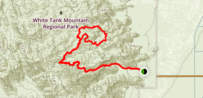 Goat Camp Trail Map