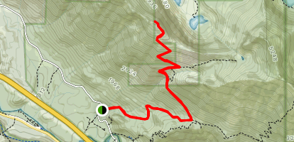 Dirty Harry's Trail (CLOSED) Map