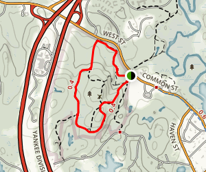 Wilson Mountain Reservation Trail Map