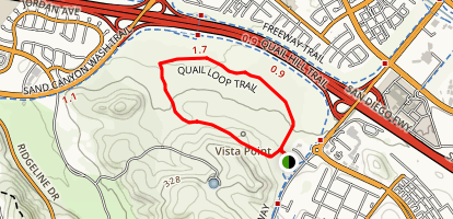 Quail Loop Trail Map