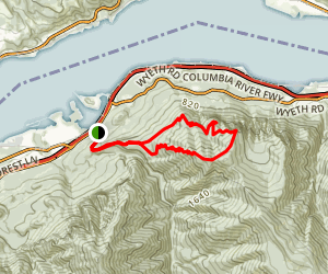 Indian Point Loop Trail Map