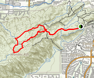 National to Hidden Valley to Mormon Loop Map