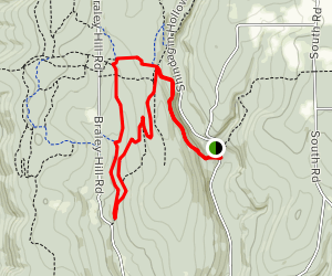 Shindagin Hollow State Forest Trails Map