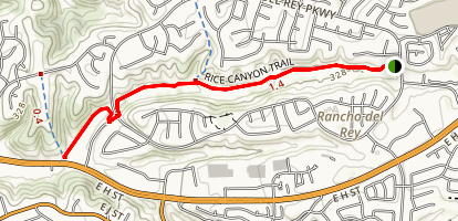 Rice Canyon Trail Map