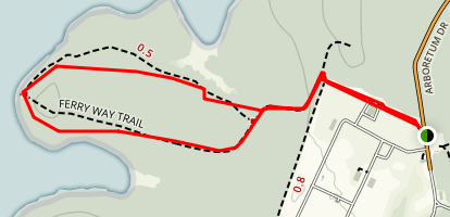 Ferry Way Trail Loop Map