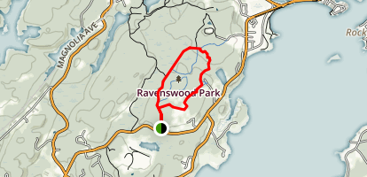 Ravenswood Park  Trail Map