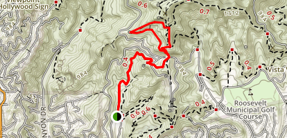 Brush Canyon: Brush Canyon Trail Map