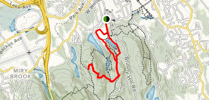 Tarrywile Park Trail Map