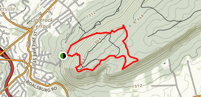 Mount Nittany Map