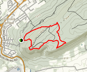 Mount Nittany Loop Map
