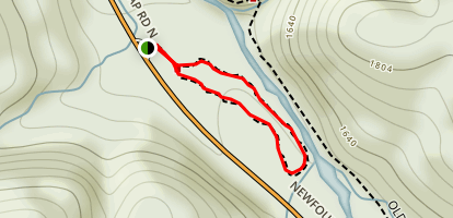 Sugarlands Valley Nature Trail Map