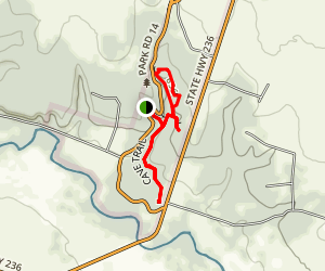 Mother Neff State Park Trail Map