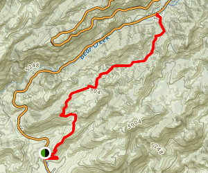 Bug Springs Trail Map