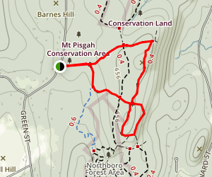 Mentzner Trail and Sparrow Trail Loop Map