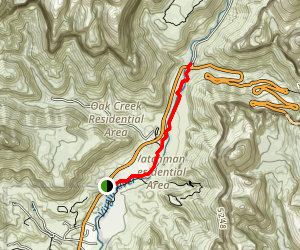 Pa'rus Trail Map
