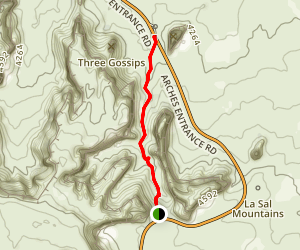 Park Avenue Trail Map