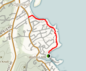 Marginal Way Walk Map