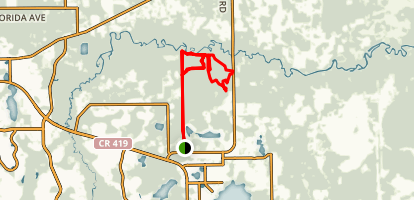 Ditch of Doom! - Little Big Econ State Forest Map