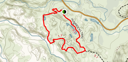 Hummocks Trail Map