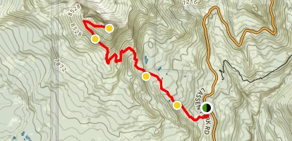 Brokeoff Mountain Trail Map