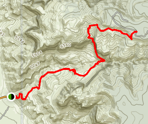 Dog Canyon Map