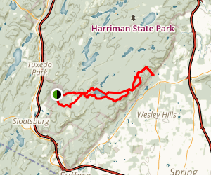 Pine Meadow Trail Map