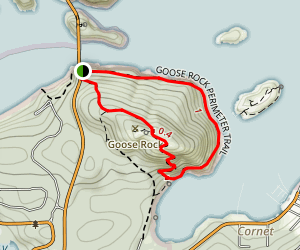 Goose Rock Trail Map