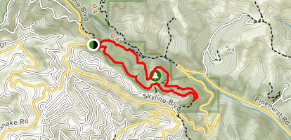 Huckleberry Nature Path Trail Map