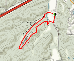 Dogwood Loop Trail Map
