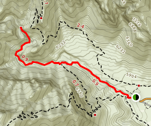 Devil's Hall Trail Map