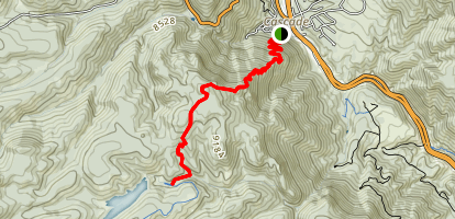 Heizer Trail Map