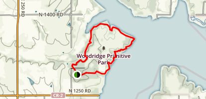 George Lathan Hiking Trail Map