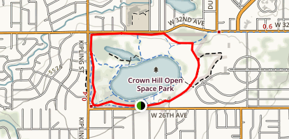 Lake Loop and Nature Trails Map