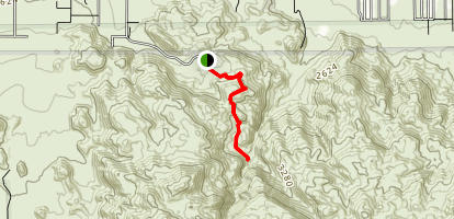 Fortynine Palms Oasis Trail Map