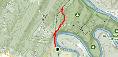 Paw Paw Tunnel Trail Map