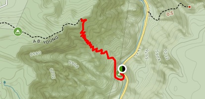 AB Young Trail Map