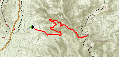 Mundys Gap Map