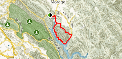 King's Canyon Loop Trail Map