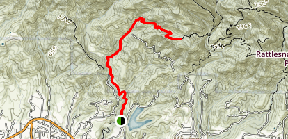 Jesusita Trail Map