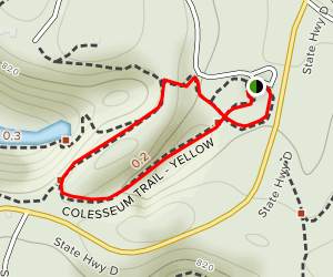 Colosseum Trail Map