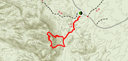 Sara Canyon Trail Map