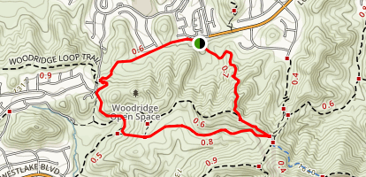 Long Canyon Loop Map