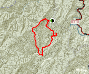 Fork Mountain Loop Trail Map